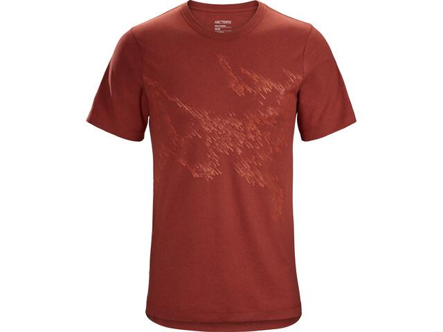 Arc'teryx Splinters SS T-Shirt Herre dark matter heather